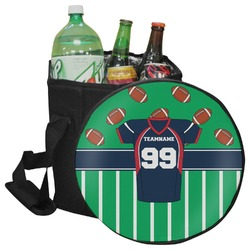 Football Jersey Collapsible Cooler & Seat (Personalized)
