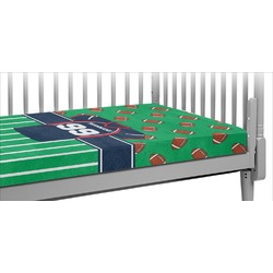 Football Jersey Crib Fitted Sheet (Personalized)