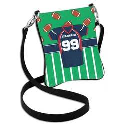 Football Jersey Cross Body Bag - 2 Sizes (Personalized)