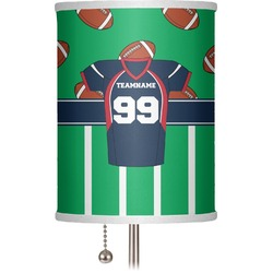 """Football Jersey 7"""" Drum Lamp Shade (Personalized)"""