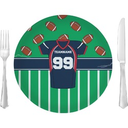 Football Jersey Dinner Plate (Personalized)