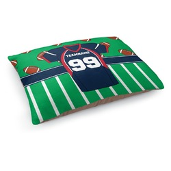 Football Jersey Dog Pillow Bed (Personalized)