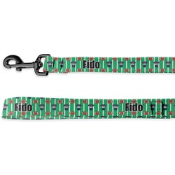 Football Jersey Deluxe Dog Leash (Personalized)