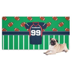 Football Jersey Pet Towel (Personalized)
