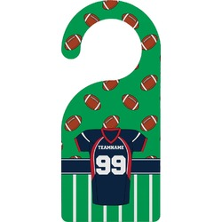 Football Jersey Door Hanger (Personalized)