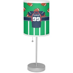 "Football Jersey 7"" Drum Lamp with Shade (Personalized)"