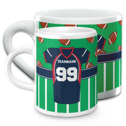 Football Jersey Espresso Cups (Personalized)
