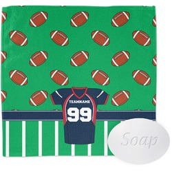Football Jersey Wash Cloth (Personalized)