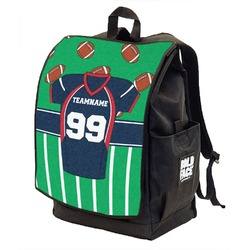 Football Jersey Backpack w/ Front Flap  (Personalized)