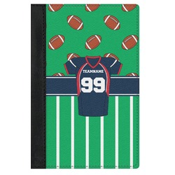 Football Jersey Genuine Leather Passport Cover (Personalized)