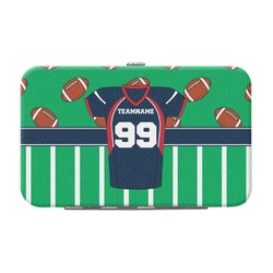 Football Jersey Genuine Leather Small Framed Wallet (Personalized)