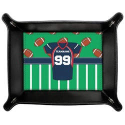 Football Jersey Genuine Leather Valet Tray (Personalized)