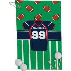Football Jersey Golf Towel - Full Print (Personalized)
