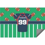 Football Jersey Indoor / Outdoor Rug (Personalized)