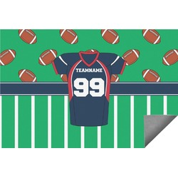 Football Jersey Indoor / Outdoor Rug (Personalized)