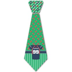 Football Jersey Iron On Tie (Personalized)