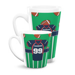 Football Jersey Latte Mug (Personalized)