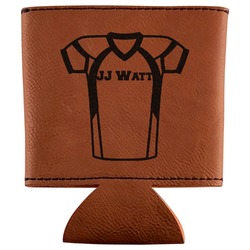 Football Jersey Leatherette Can Sleeve (Personalized)