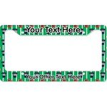 Football Jersey License Plate Frame (Personalized)