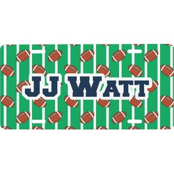 Football Jersey Front License Plate (Personalized)