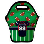 Football Jersey Lunch Bag w/ Name and Number