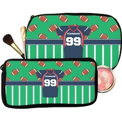 Football Jersey Makeup / Cosmetic Bag (Personalized)