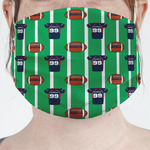 Football Jersey Face Mask Cover (Personalized)