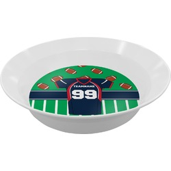 Football Jersey Melamine Bowl (Personalized)