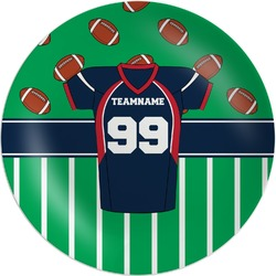 Football Jersey Melamine Plate (Personalized)