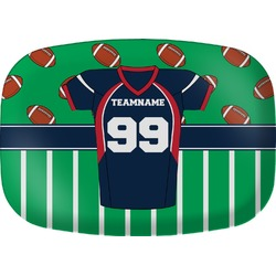 Football Jersey Melamine Platter (Personalized)