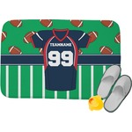 Football Jersey Memory Foam Bath Mat (Personalized)