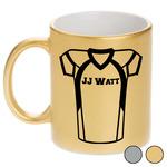 Football Jersey Metallic Mug (Personalized)