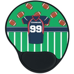 Football Jersey Mouse Pad with Wrist Support