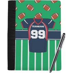 Football Jersey Notebook Padfolio (Personalized)