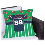 Football Jersey Outdoor Pillow (Personalized)