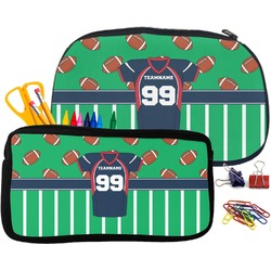 Football Jersey Pencil / School Supplies Bag (Personalized)