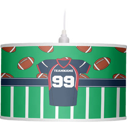Football Jersey Drum Pendant Lamp (Personalized)