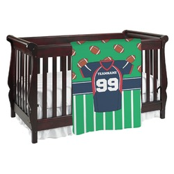 Football Jersey Baby Blanket (Personalized)