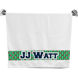 Football Jersey Bath Towel (Personalized)
