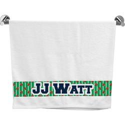 Football Jersey Bath Towel (Personalized)
