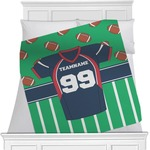 Football Jersey Minky Blanket (Personalized)