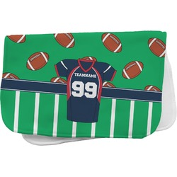 Football Jersey Burp Cloth (Personalized)