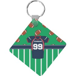 Football Jersey Diamond Key Chain (Personalized)