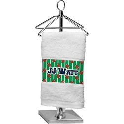 Football Jersey Finger Tip Towel (Personalized)