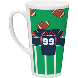 Football Jersey Latte Mug (Personalized)