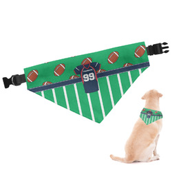 Football Jersey Dog Bandana (Personalized)