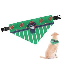 Football Jersey Dog Bandana (Personalized)