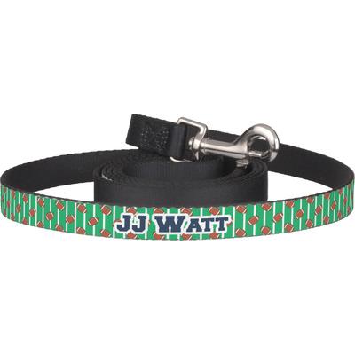 Football Jersey Dog Leash (Personalized)