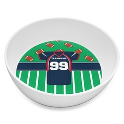 Football Jersey Melamine Bowl 8oz (Personalized)