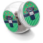 Football Jersey Puppy Treat Jar (Personalized)